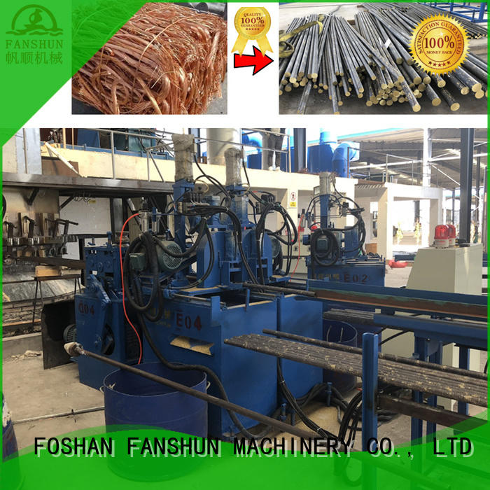 Horizontal continuous casting machine for bronze rods,copper rods production line manufacturers