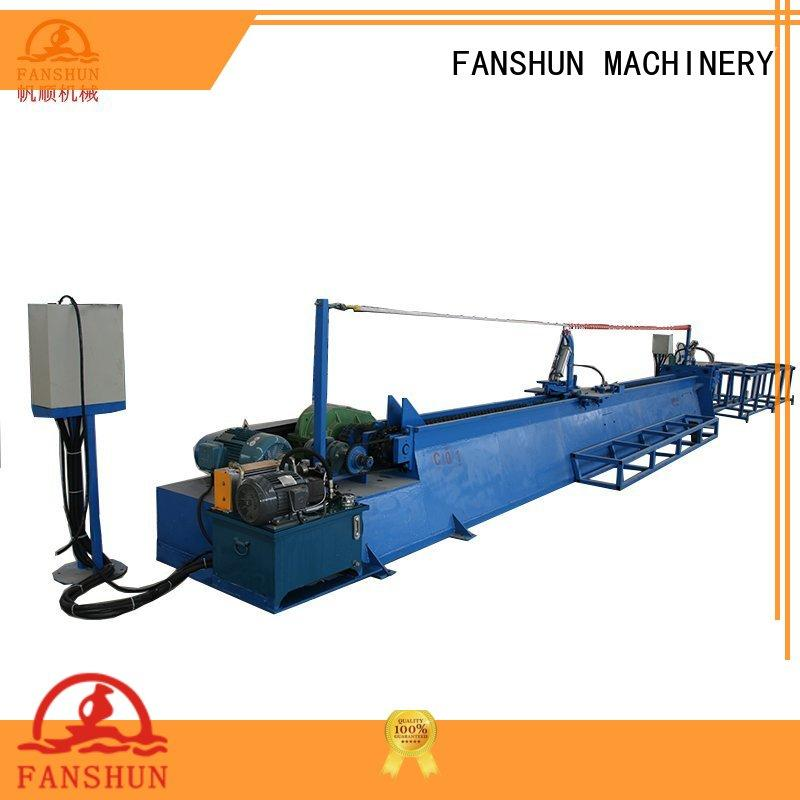 FANSHUN automatic copper rod casting machine quick transaction in factory
