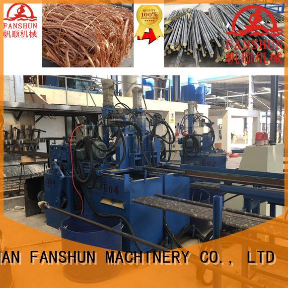 FANSHUN Brand line copper production line casting factory