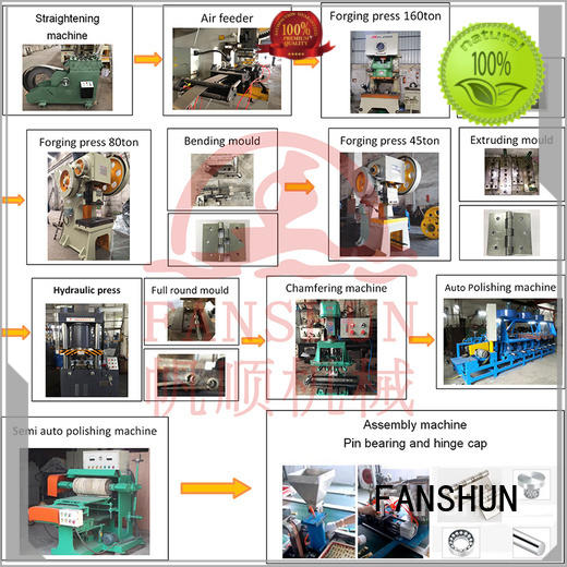 FANSHUN stable induction furnace for brass production in factory