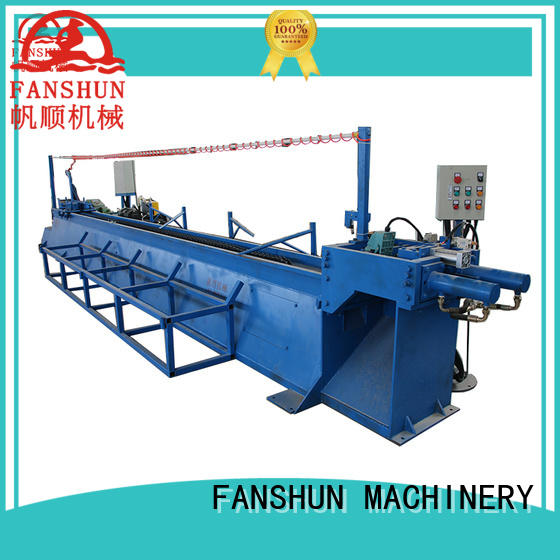 FANSHUN refining rod making machine in factory