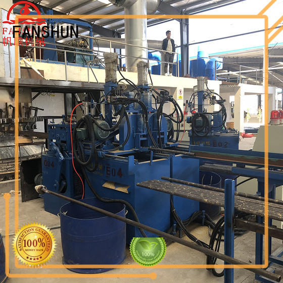 FANSHUN peeling continuous casting machine purchase online for copper