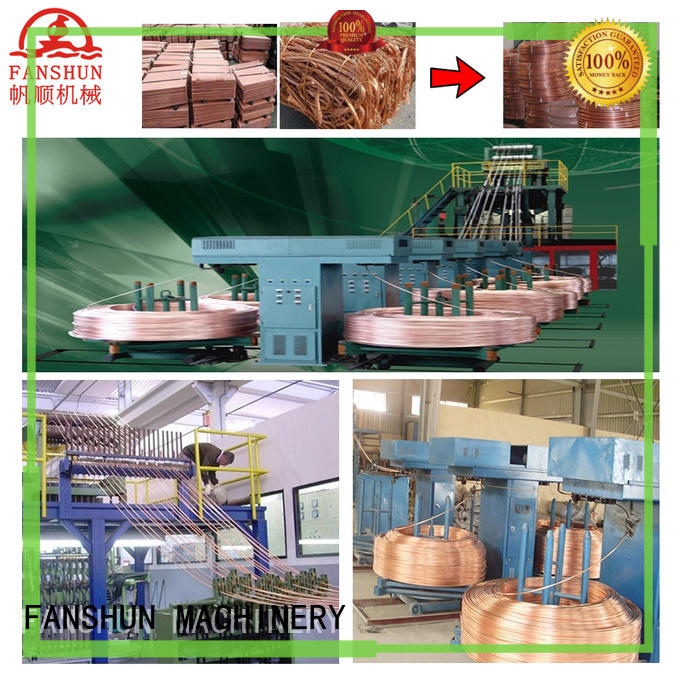 durable upward continuous casting machine scrap with good reputation in factory