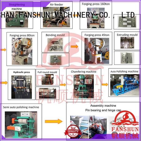FANSHUN Brand bag collector production door hinge machine removing