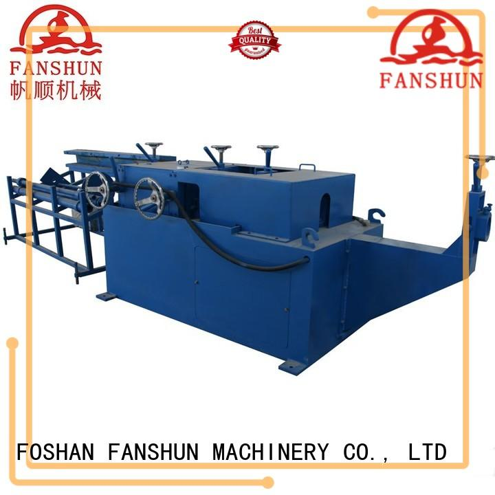 bars Custom automatic rod brass hinge making machine FANSHUN straightening