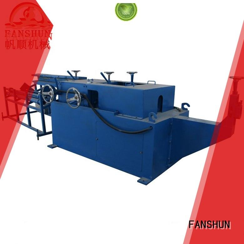 FANSHUN round die casting machine in different color for copper