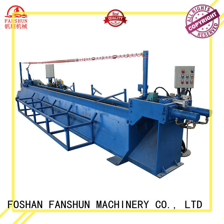 FANSHUN inexpensive continuous extrusion machine for brass rod in factory