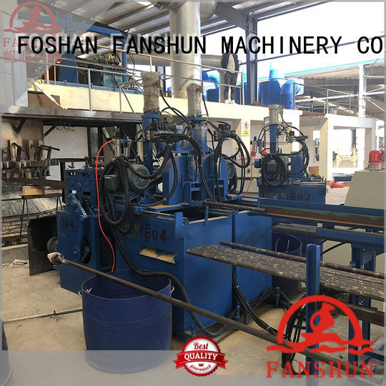 ball valve manufacturing process production machine continuous FANSHUN Brand