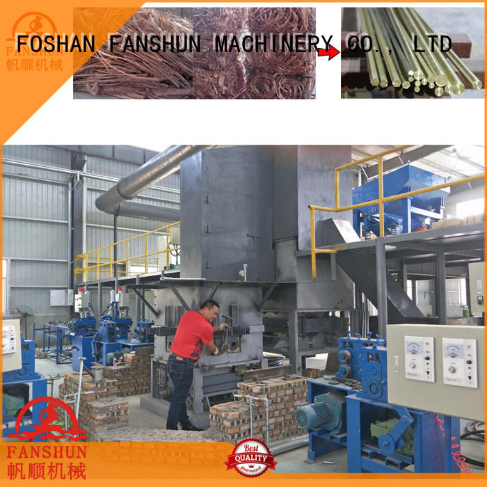 FANSHUN solid induction forging machine source now in workhouse