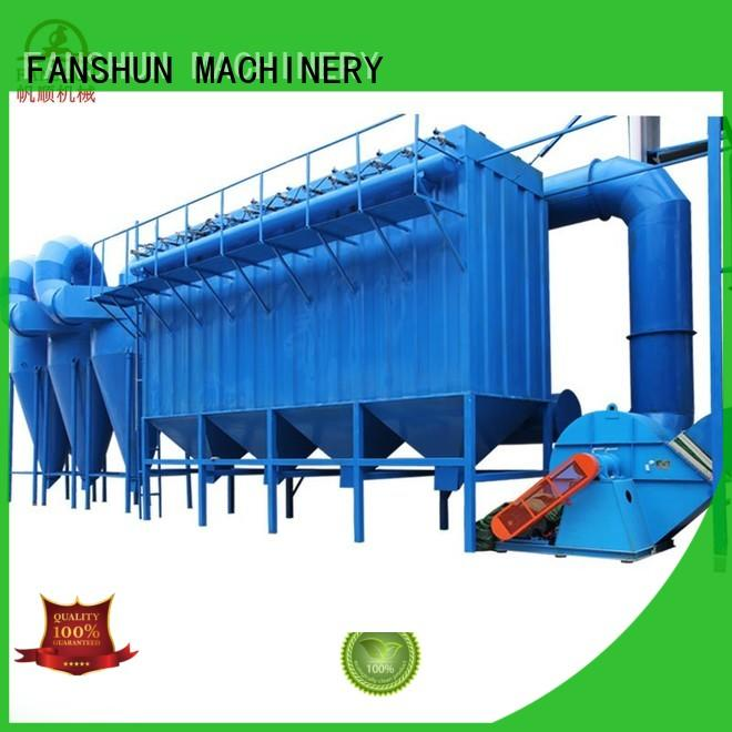 FANSHUN hot-sale upcast copper rod machine for stainless steel melting in industrial park