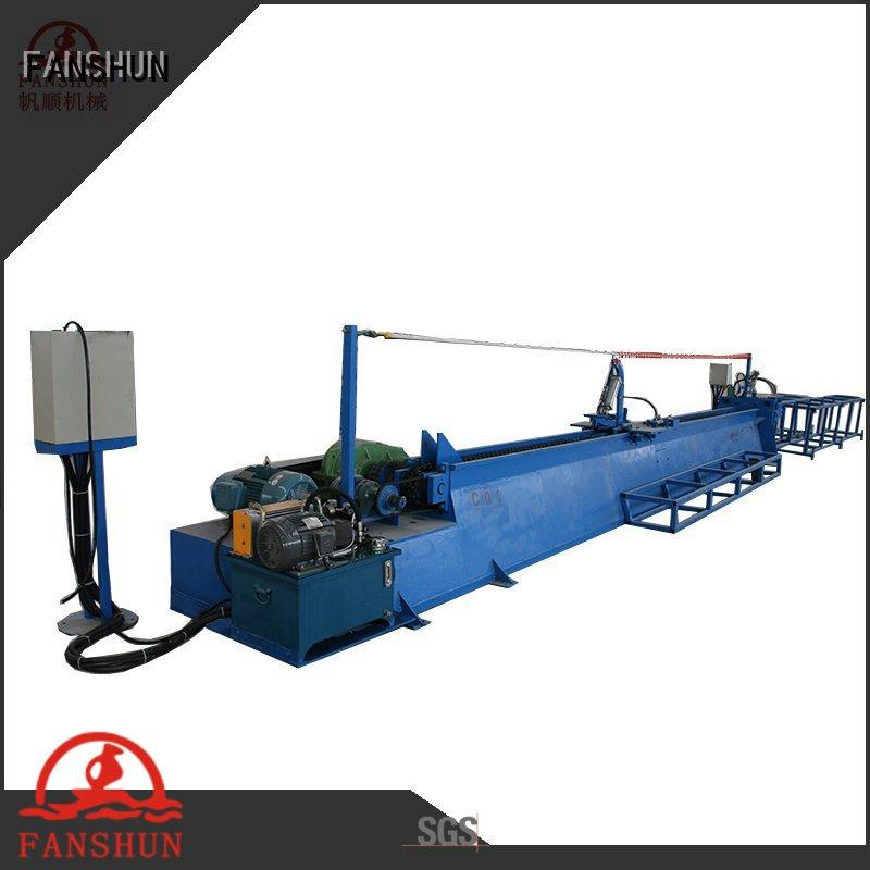 FANSHUN bronze production line for copper pipe in factory