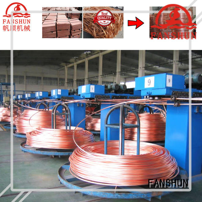 FANSHUN best metal sheet production line with good price