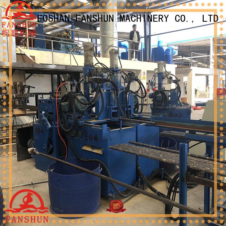 Quality FANSHUN Brand production ball valve forging machine