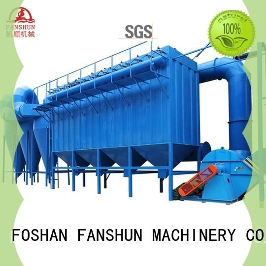 FANSHUN equipment continuous extrusion machine for aluminum bar in workhouse