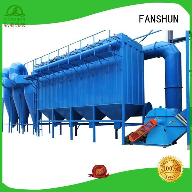 FANSHUN upwards continuous casting machines for iron melting in factory