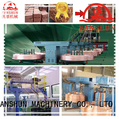 hot-sale copper rod upward continuous casting machine for iron melting in industrial park