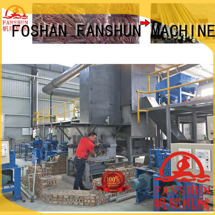 Wholesale line electric brass rod production line FANSHUN Brand