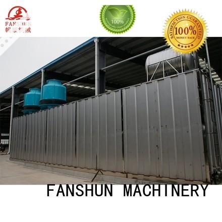 FANSHUN size brass ball valve making machine for straightening hexagon bar in workhouse