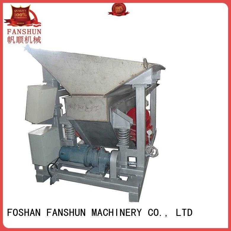 Quality FANSHUN Brand scrap metal sheet production line