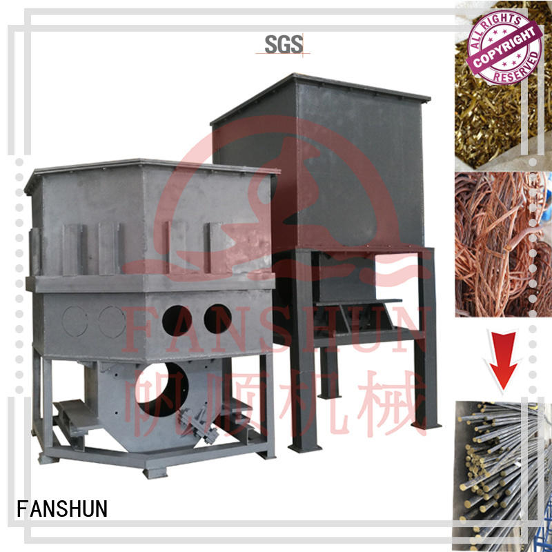 FANSHUN horizontal continuous casting machine for copper rod in industrial park
