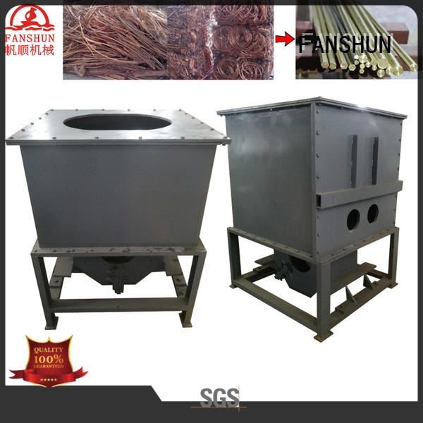 FANSHUN electric brass rod making machine factory price for copper