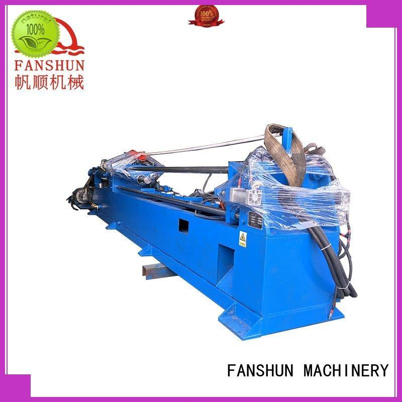 FANSHUN safety continuous casting machine for bronze bar in factory