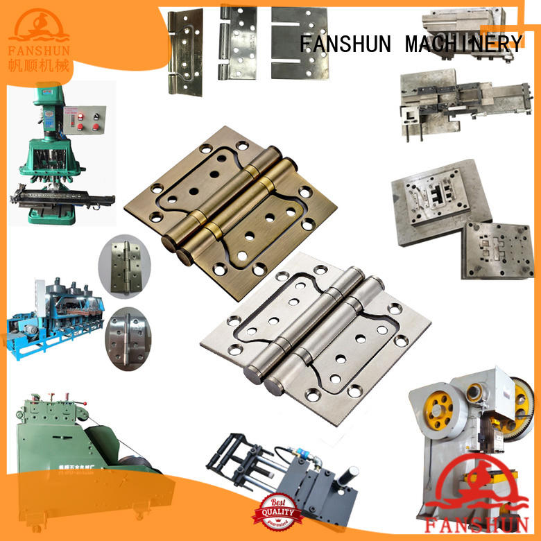 quality brass hinge making machine iron with many colors in factory