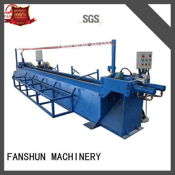 FANSHUN electric padlock production line in industrial park