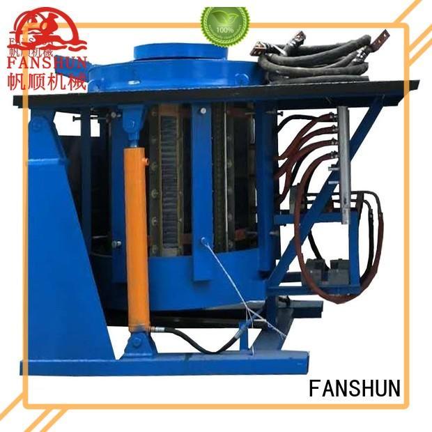 FANSHUN environmental aluminum ingot casting equipment in industrial park