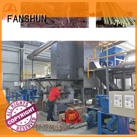 FANSHUN new-arrival metal drilling machine for brass production in factory