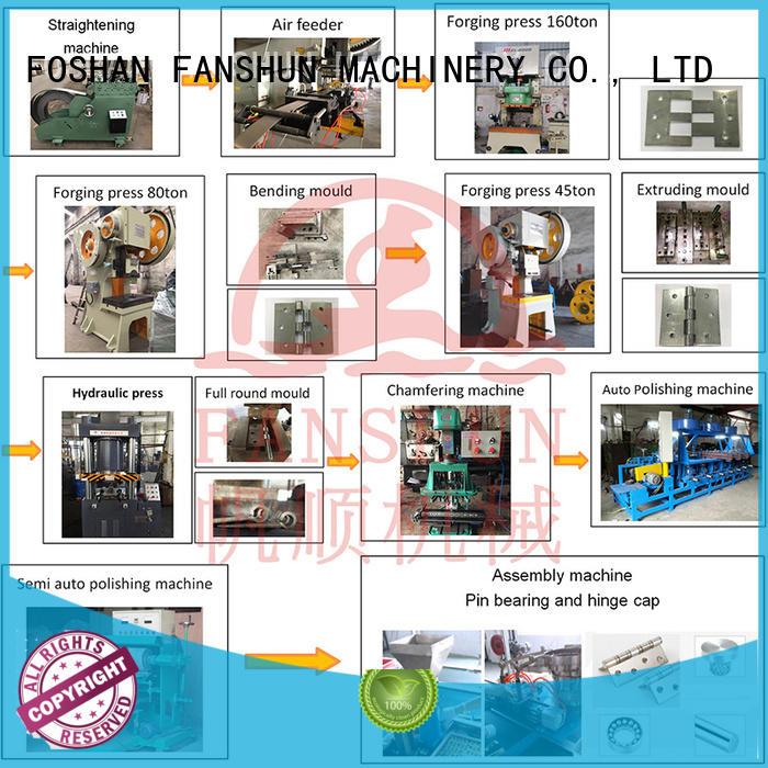 Custom stainless filter hinges making machine FANSHUN industrial