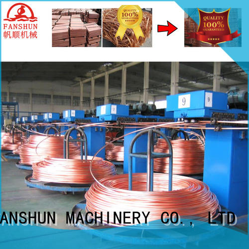 FANSHUN Brand line production oxygenfree continuous casting machine manufacturers