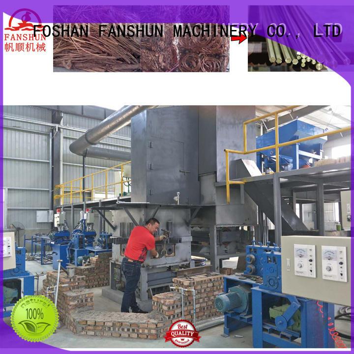 brass copper production brass rod production line FANSHUN