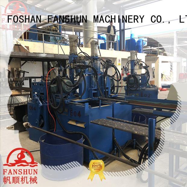 high stability ball valve manufacturing process machine FANSHUN company