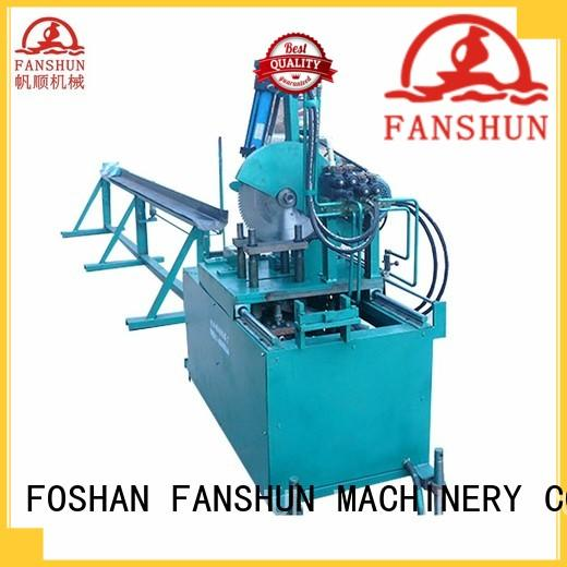 FANSHUN cost effective peeling machine for bronze tube production in industrial park