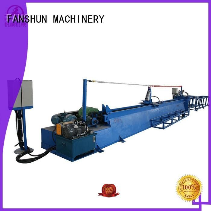 FANSHUN easy operating padlock machine manufacturer for bronze bar production in factory