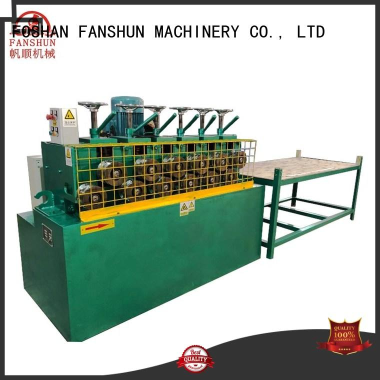 FANSHUN protection extrusion machine for brass tube in factory