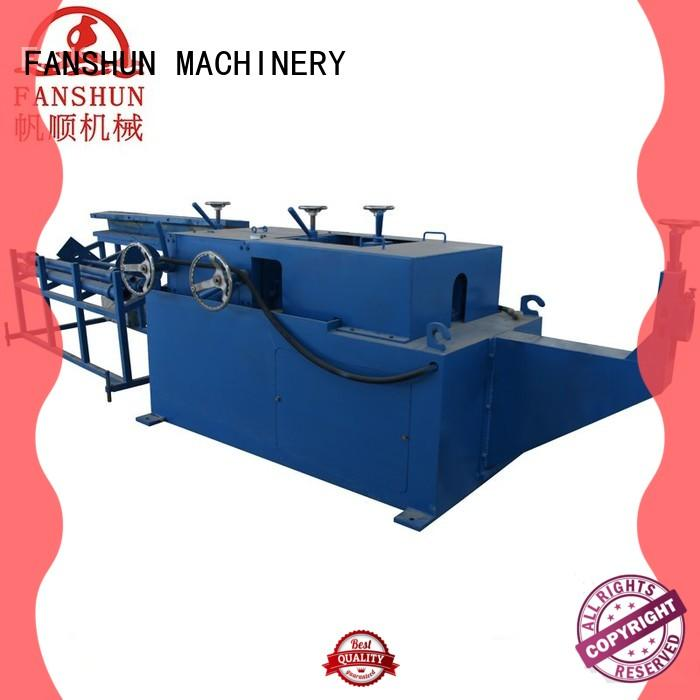 FANSHUN copper tube production line from China in workhouse