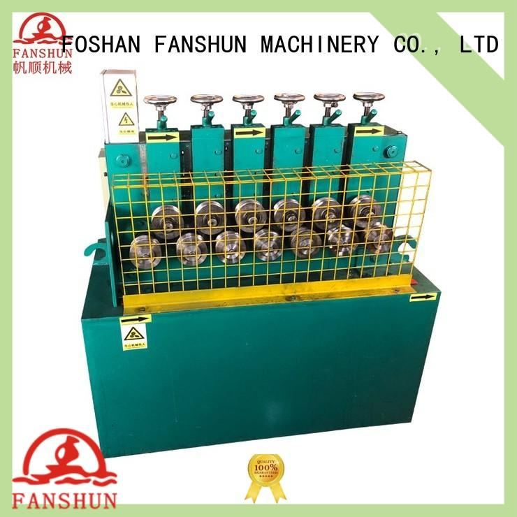 FANSHUN bronze tube making machine with many colors in industrial park
