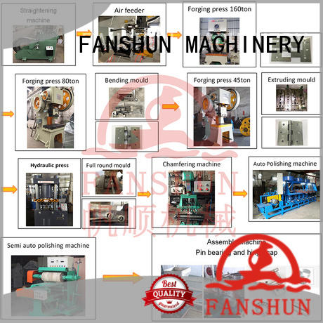 FANSHUN stable straightening machine manufacturers for aluminium in factory