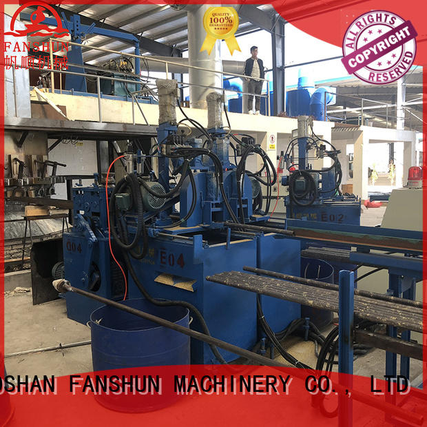 production high stability rod copper ball valve manufacturing process FANSHUN Brand